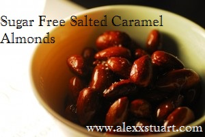 Sugar Free Salted Caramel Almonds