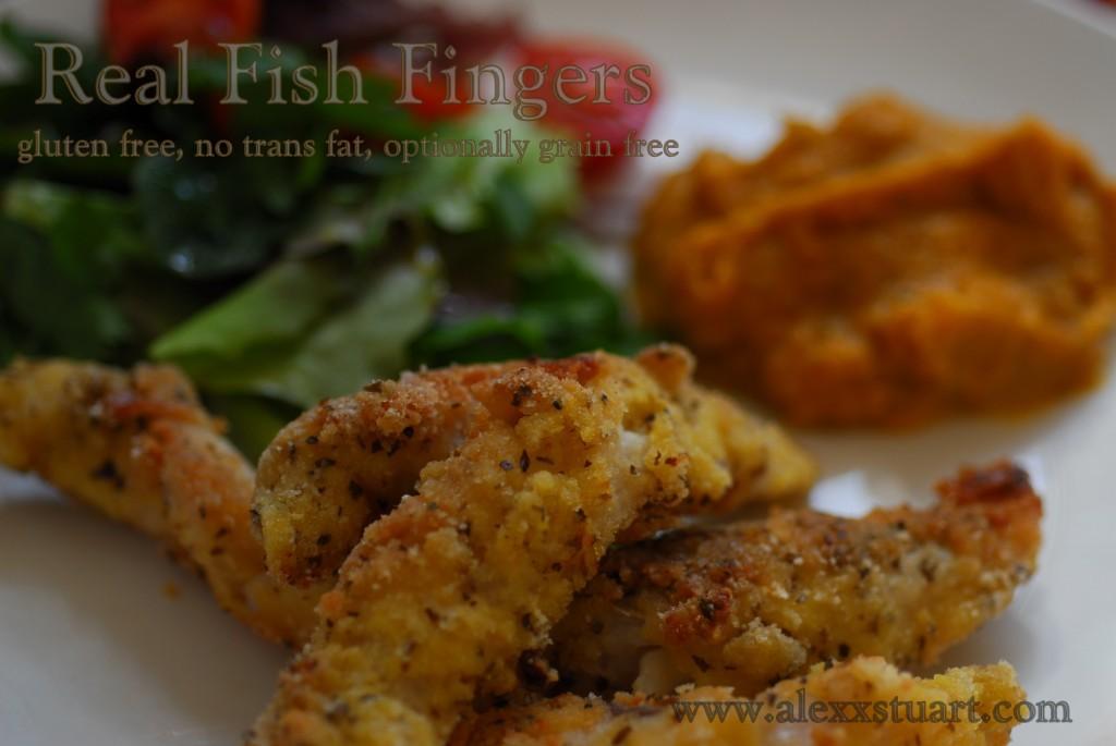 No Trans Fat Fried Fish Fingers