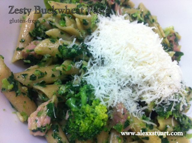 Easy to do Zesty Buckwheat Pasta Recipe