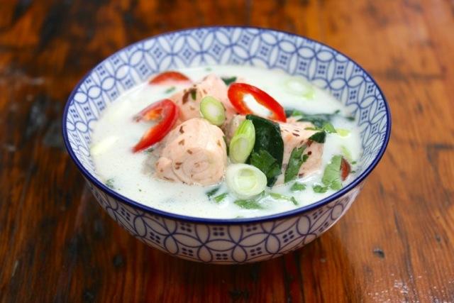 6 minute fish soup