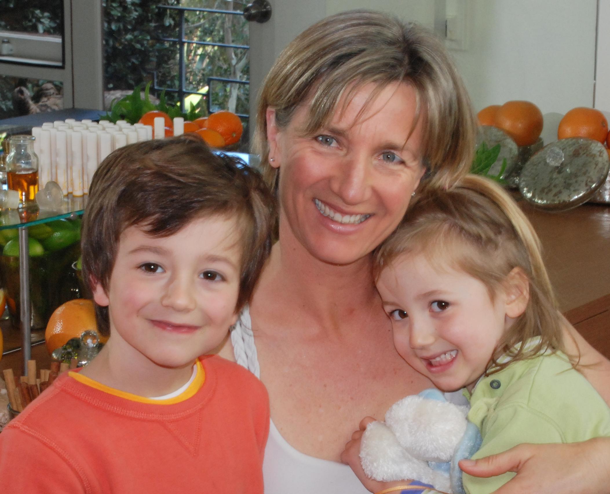 Cindy Luken + kids