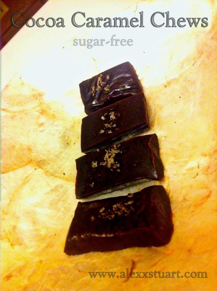 Chocolate Caramel Chews