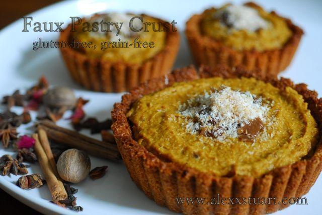 Grain-free pastry crust