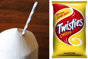 coconut vs twisties