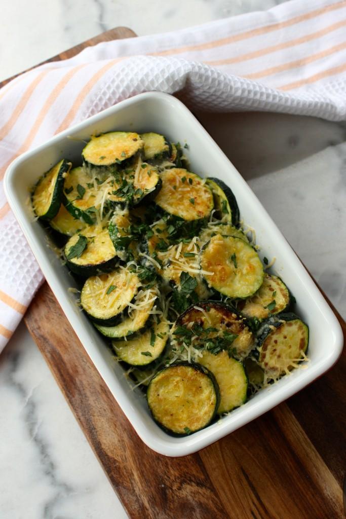 Easy Zucchini Gratin