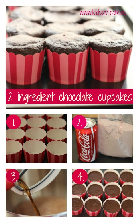 coca cola cup cakes