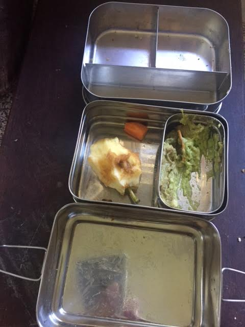 lunchbox empty