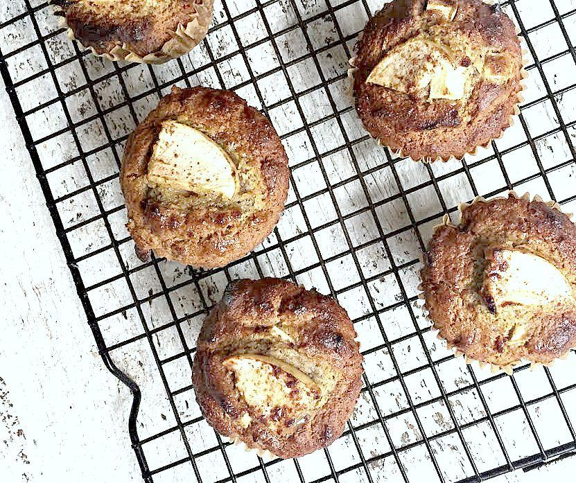 apple cinnamon muffins pic monkey