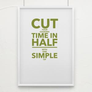 cut time in half