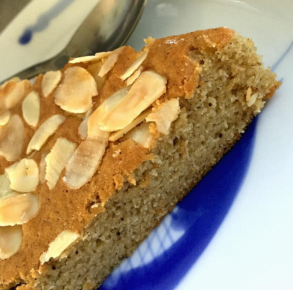 Olive Oil Almond Cake Gluten Free