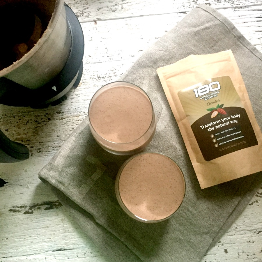 chocolate breakfast 180 nutrition