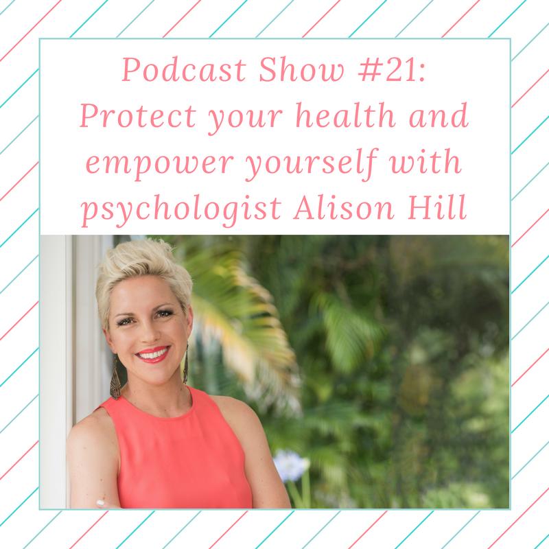 Podcast show 21: Ali Hill