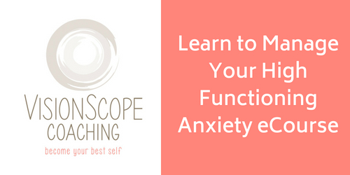Learn to Manage Your High Functioning AnxietyeCourse logo